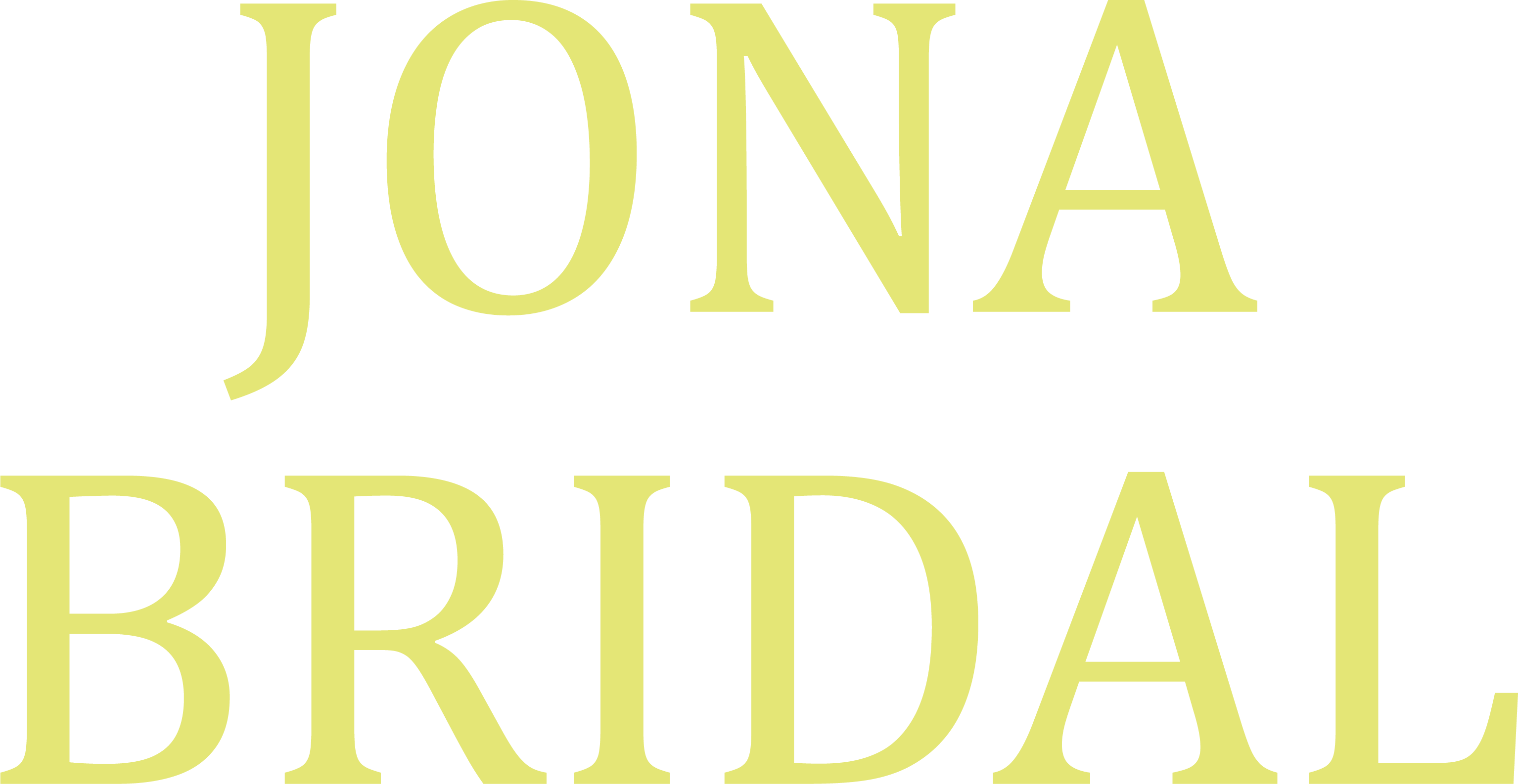 Jona Bridal